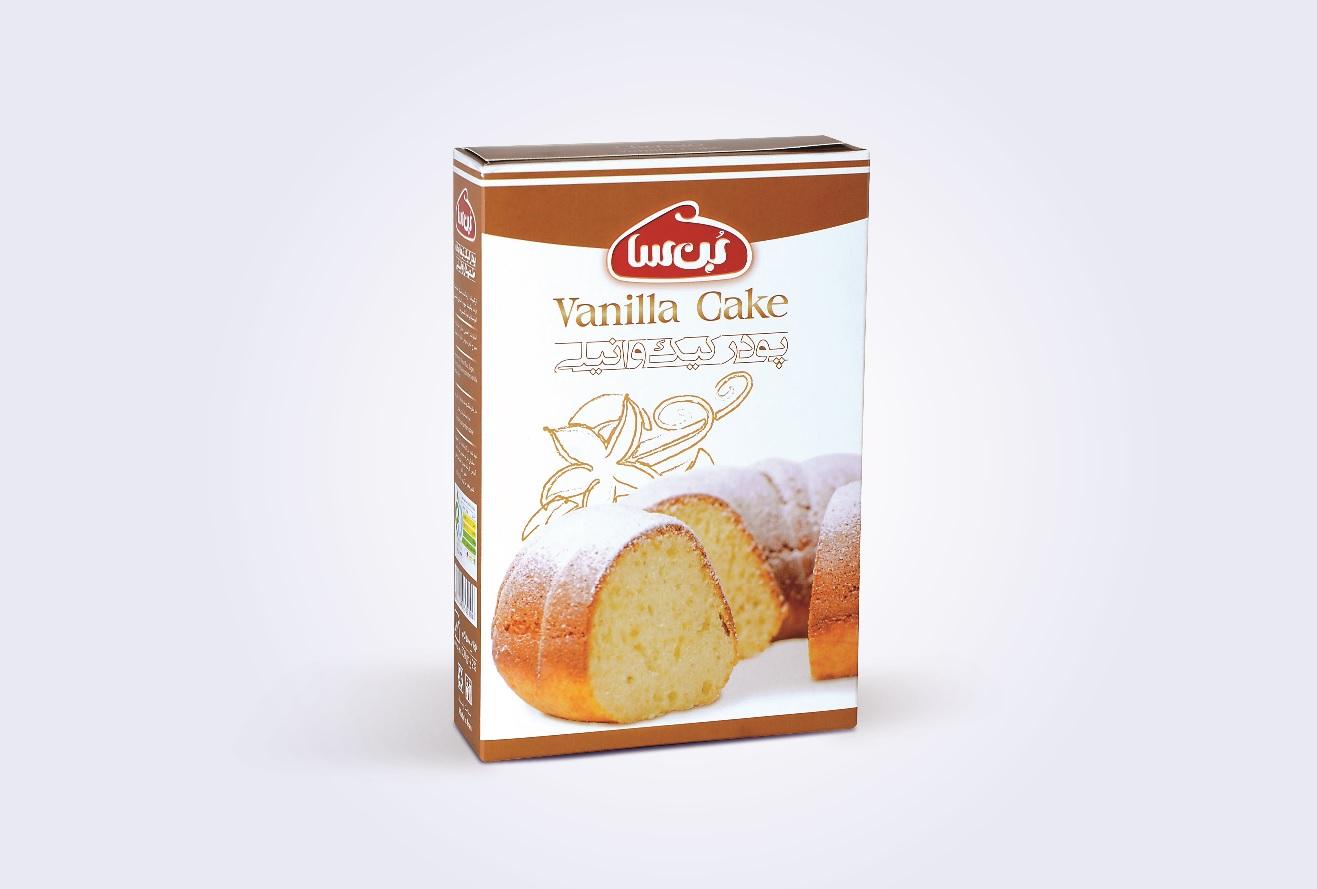 جعبه پودر کیک وانیلی بن سا