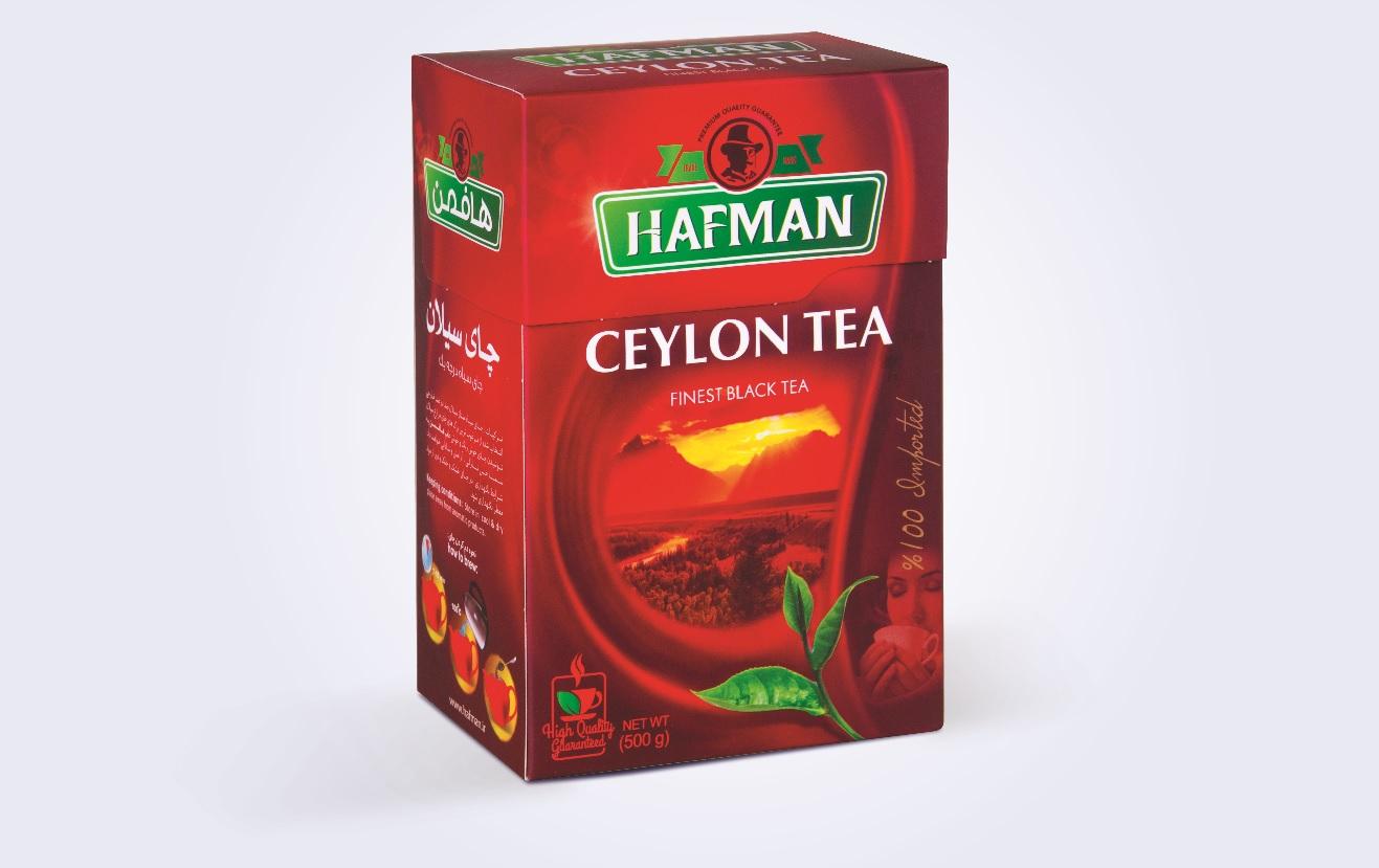 جعبه چای سیلان هافمن