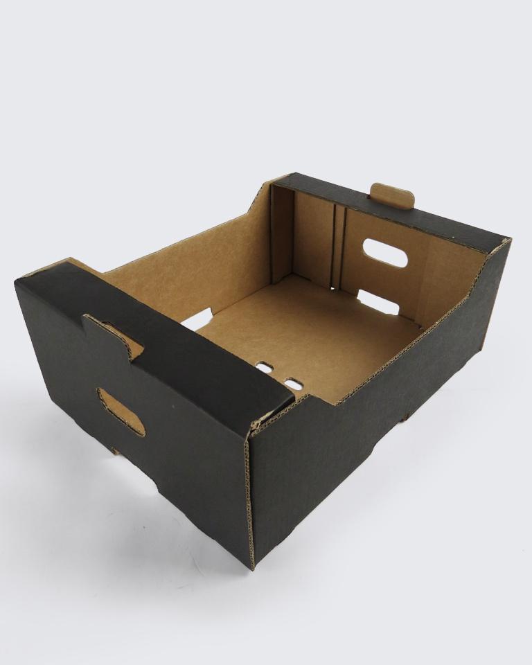 جعبه میوه کارتنی با چاپ تک رنگ