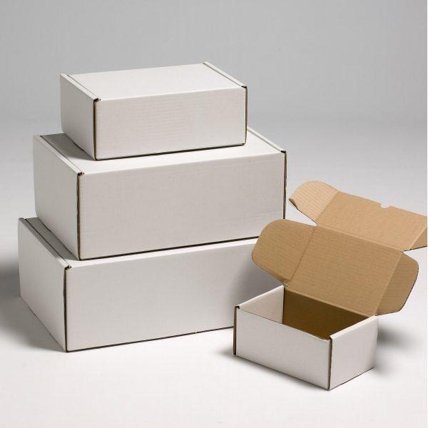 جعبه کارتنی تاپ وایت رویه سفید