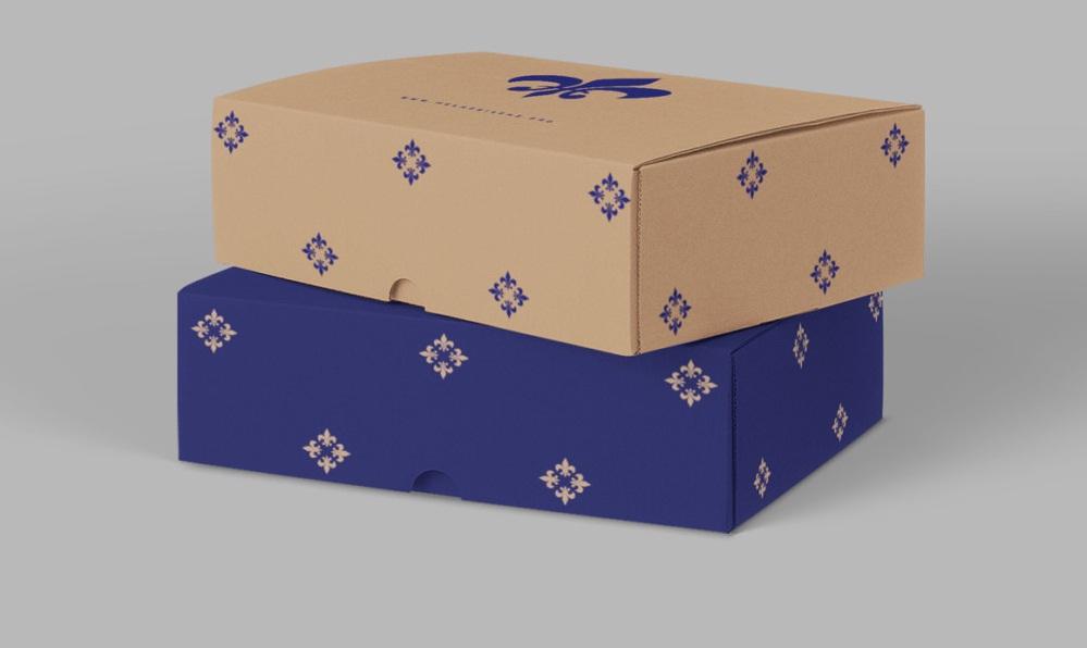 جعبه لوکس کارتنی
