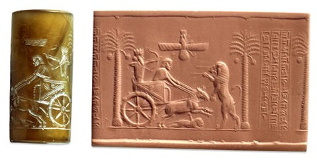 چاپ در ایران باستان - مهرهای هخامنشیان